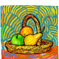Feng shui, santé, fruits, nourriture, cuisine, bien-être