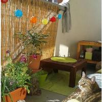 Feng Shui Aquitaine: Ah, ce qu'on est bien sur le balcon de Tiphaine!