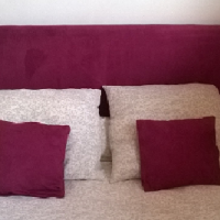 Chambre Feng Shui: Une tête de lit facile à réaliser, jolie et économique. Un lit douillet, un bon sommeil.