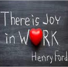 la joie au travail
