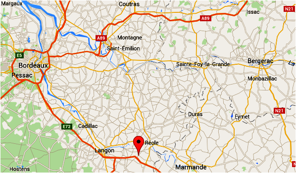 Paudaurat Les Turons Localisation 1
