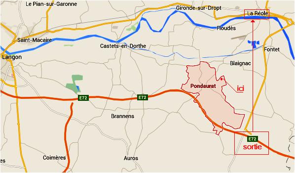 Paudaurat Les Turons Localisation 2