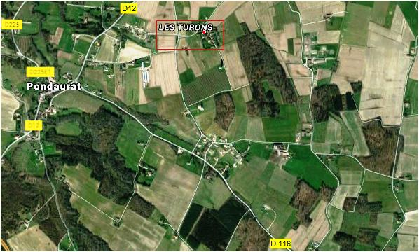 Paudaurat Les Turons Localisation 3