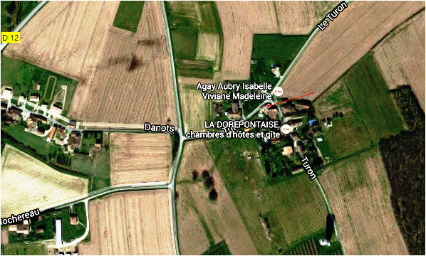 Paudaurat Les Turons Localisation 4