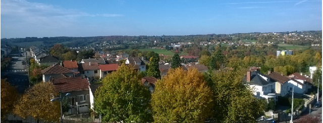 vue de Limoges , 25 Octobre 2015