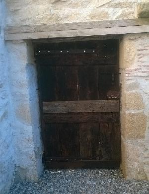porte rénovée côté intérieur
