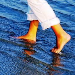 bains de pieds