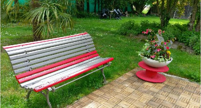 le banc de mon jardin à pondaurat