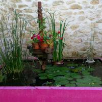Feng Shui Jardin, les poissons dans un bassin symbolisent l'abondance.