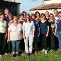Le Stage des Perceptions de ce week-end à Pondaurat près de Bordeaux : une belle rencontre énergétique.