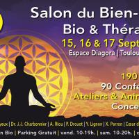 Le Feng Shui Tibétain présent au Salon du Bien-être, Bio et thérapies à Toulouse les 15, 16 et 17 Septembre 2017.