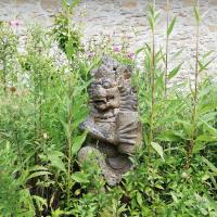 Jardin Feng Shui, les statues, les animaux, les représentations
