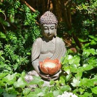 Un Bouddha dans votre jardin : conseils Feng Shui.