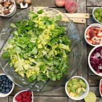 L'action de la couleur des aliments sur vosorganes.
