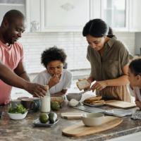 Vous transmettez votre énergie dans les aliments que vous cuisinez.